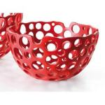 Nari 7.5 Mesh Accent Bowl - Red